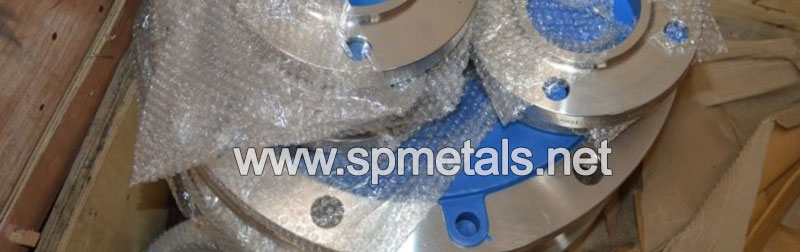 904L Stainless Steel Weld Neck Flanges Packed