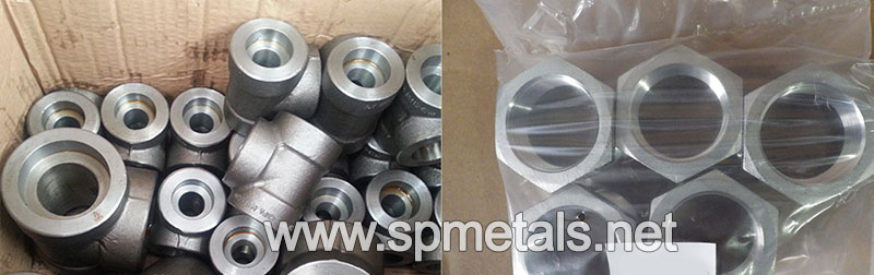 904L Stainless Steel Threaded Fittings Packed