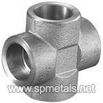 ASTM B649 SS 904L Forged Socket Weld Cross