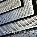 Stainless Steel 904L Perforated Plate